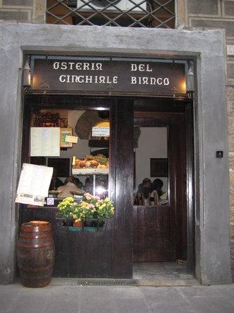 Osteria del Cinghiale Bianco : Osteria Florenz