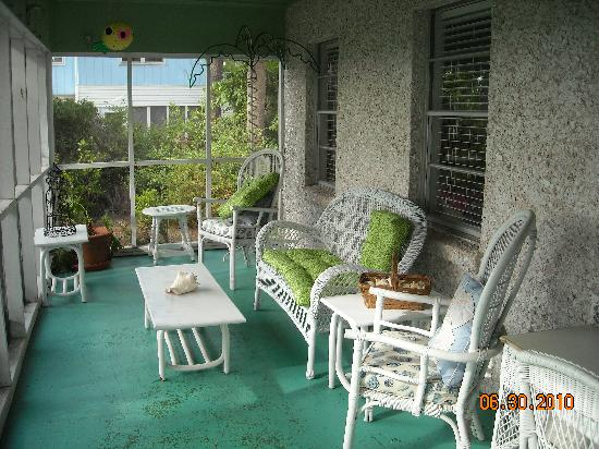 Tybee Island, Τζόρτζια: cottage front porch