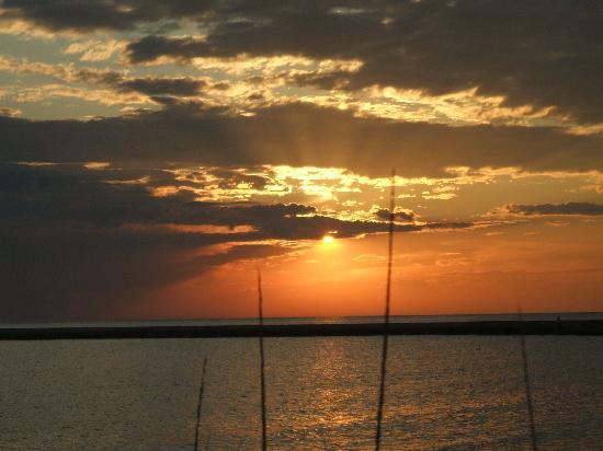 Ludington State Park: Lake Michigan Sunset