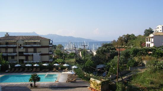 Corfu Mare Boutique Hotel: Udsigt fra værelse på 2.sal
