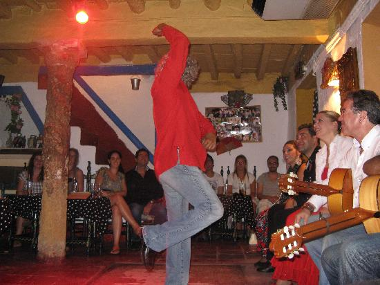 Marbella, Spain: Flamenco at Ana Maria in the Old Town.  Fun night!