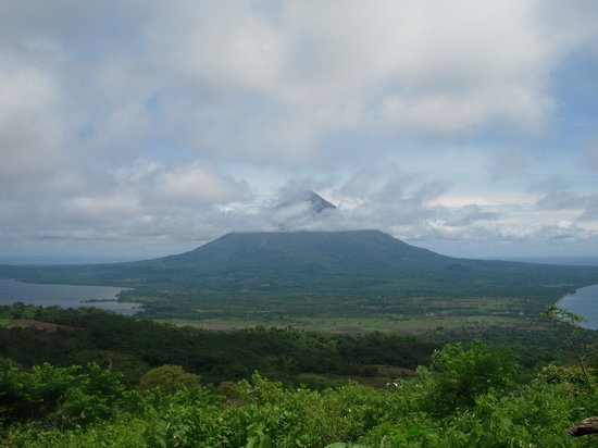 Santa Cruz, Nicarágua: View of the island