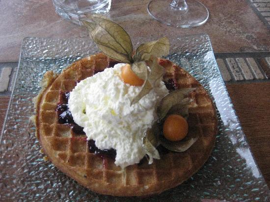 Akranes, Island: feiner Dessert