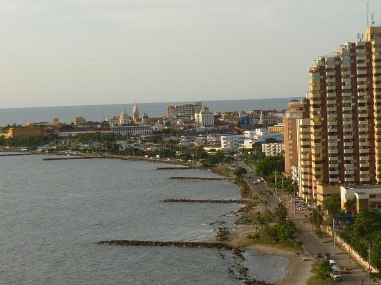 Decameron Cartagena: VISTA DESDE MI CUARTO EN EL PISO 17