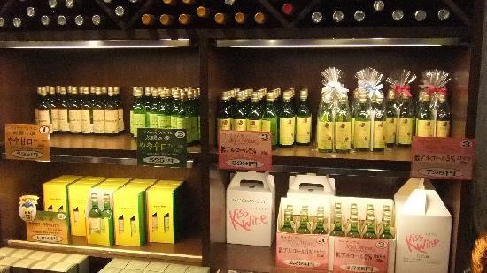 名護市, 沖縄県, ワイン販売コーナー