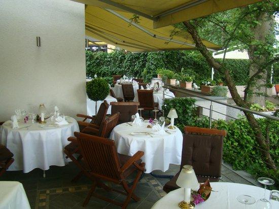 Residence: vue sur la terrasse