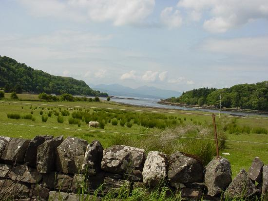 Scottish countryside, south of Oban in Argyll and Bute