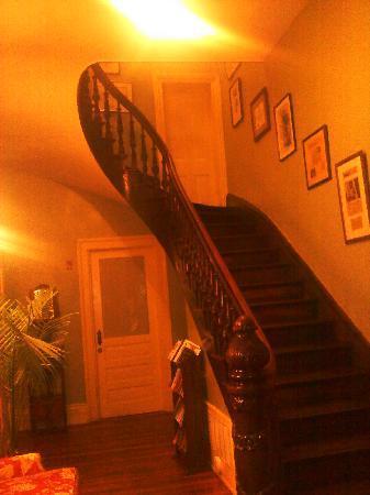 Rothschild - Pound House Inn: Entry Hall of Main House