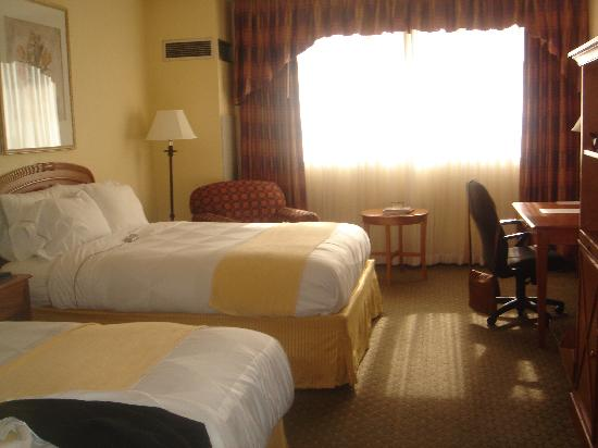 Allure Resort International Drive Orlando: Twin Room at the Radisson (April 2010)