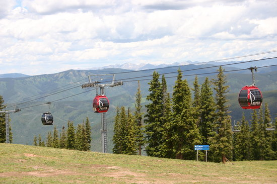 Silver Queen Gondola: ride at the top