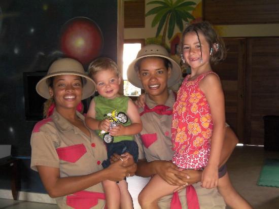 Dreams Palm Beach Punta Cana : Kids in love with Explorer Club (Yaniri & Awilda)