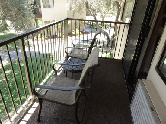 Sycuan Golf Resort: Balcony