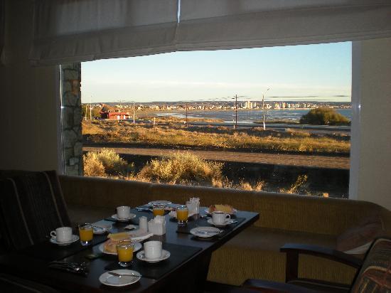 Territorio Hotel: Desayunar con vista al mar