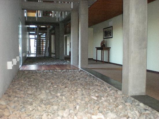 Territorio Hotel: Pasillo interior