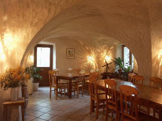 Le Bourg-d'Oisans, Frankrijk: la salle à manger