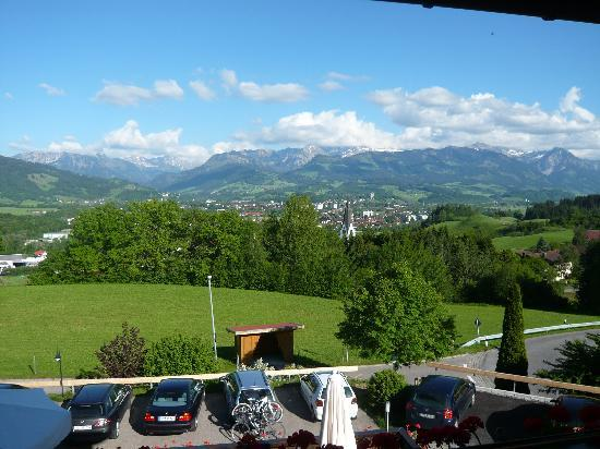 Hotel-Restaurant Kuehbergalp: Blick vom Balkon