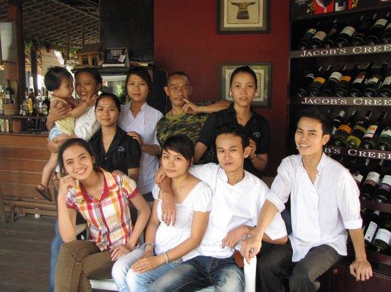 Son Hoian Restaurant: Friendly staff