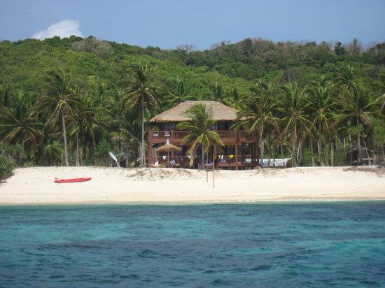 Cagdanao Island Beach Resort: our big cabana