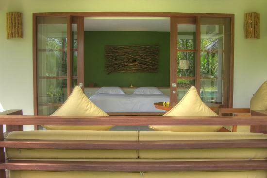 Villa Sabandari: room & terrace