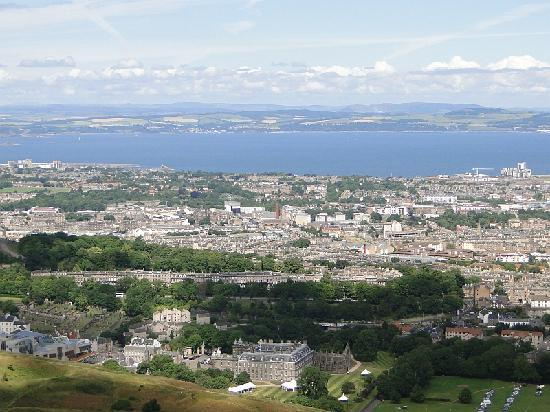 Pillars House: View from Arthur's Seat
