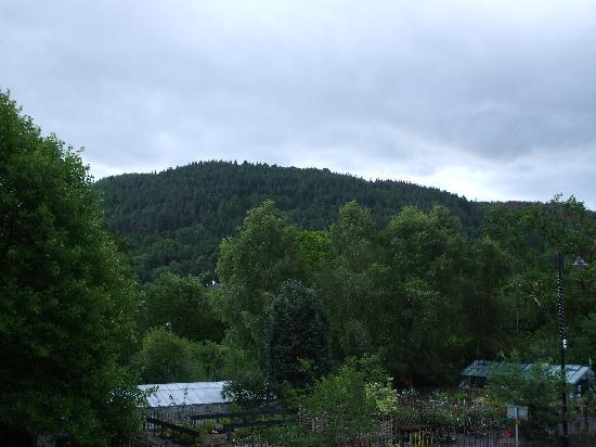 Gwesty Glan Aber Hotel: View from hotel window