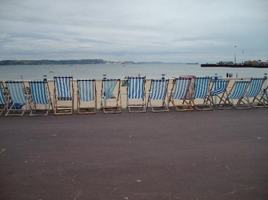 Bay View Hotel Weymouth: Looking out to sea