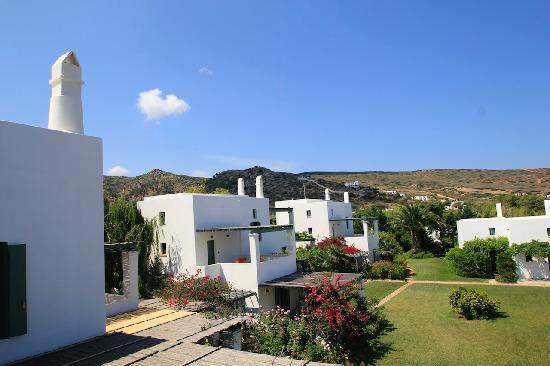 Skyros, กรีซ: A view of the hotel grounds