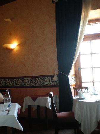 Hospederia Castillo Papa Luna: El restaurante
