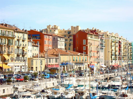 Nicea, Francja: the Port of Nice