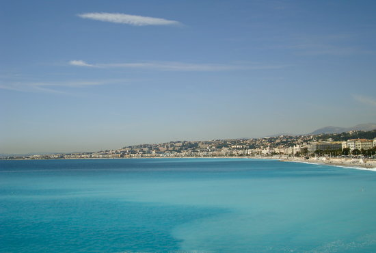 Nicea, Francja: the bay of Nice