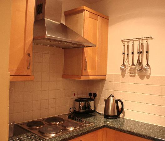 51 Kensington Court Limited: Kitchen in Large Studio