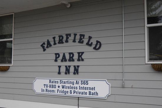 Fairfield Park Inn: Herzlich willkommen