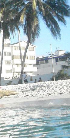 Portobelo Convention Center : Esse é o hotel, é bem pertinho da praia