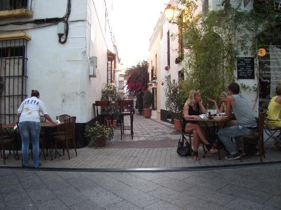 La Villa Marbella: Street nearby