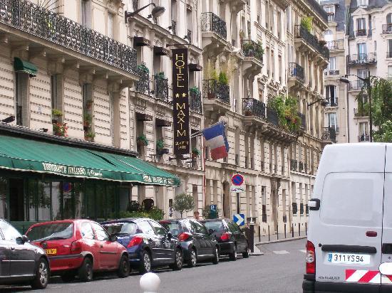 Hotel Maxim Quartier Latin : facciata hotel