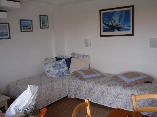 Hotel Restaurant L'Hermitage : Duplex Room - Sitting area