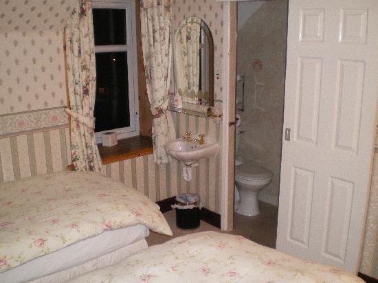 Craigard Hotel: Dusche/WC