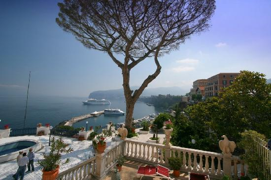 Views of Sorrento Pier from the villa\'s balcony - Picture of Villa ...