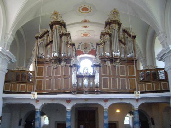 Fulda, Germany: Kloster Frauenberg, Orgel