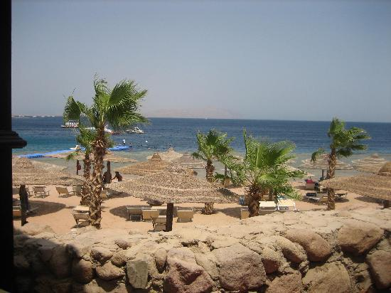 The Royal Savoy Sharm El Sheikh: view from the sea food restaurant
