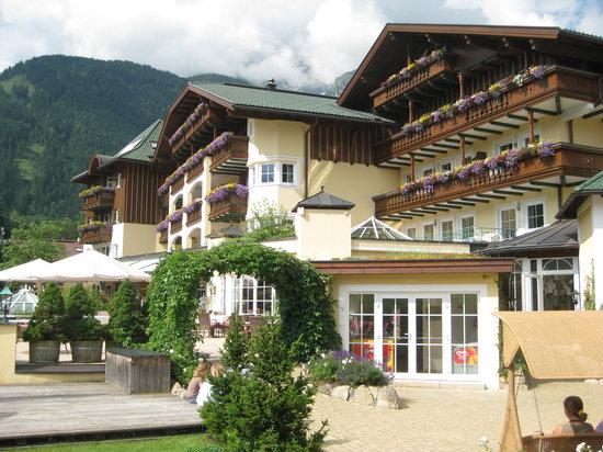 Finkenberg, Austria: Schöne Hotelanlage