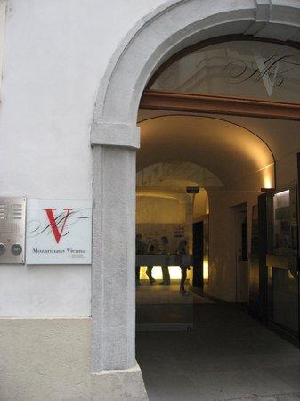 Mozarthaus Vienna : 入口