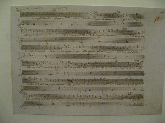 Mozarthaus Vienna : 楽譜