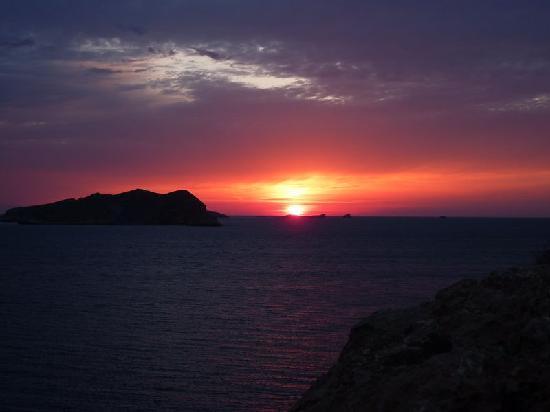 CLUB CALIMERA Delfin Playa: Nochmal ein Sonnenuntergang