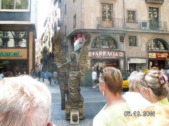Barcelona, Spain: La Rambla