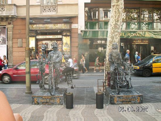 Barcelona, Spanien: La Rambla