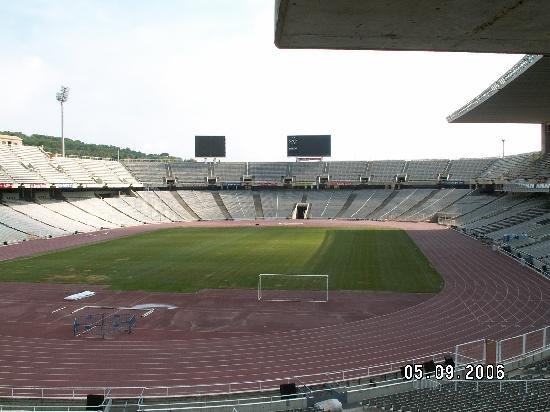 Barcelona, Spain: Olympic staduim