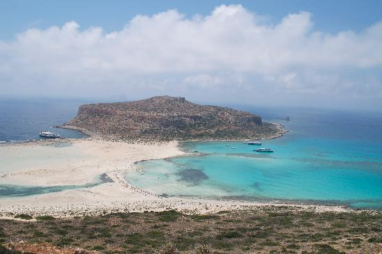 The Rοyal Blue: Balos beach
