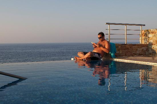 Panormos, Grèce : Villa with private pool - reading - Zen