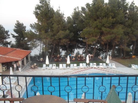 Nostos Hotel: From balcony